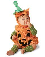 Happy Halloween Pumpkin Infant - Toddler Costume - 18 Months/2T