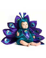 Baby Peacock Infant - Toddler Costume - 12/18 Months