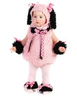 Pink Poodle Infant - Toddler Costume - 6/12 Months
