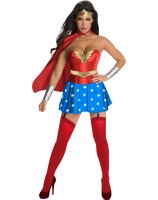 Wonder Woman Corset Adult Costume - Large