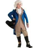 George Washington Child Costume - Medium