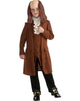 Benjamin Franklin Child Costume - Small