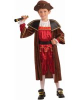 Columbus Child Costume - Medium (8-10)