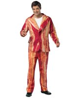 Bacon Suit Men's Adult Costume - One-Size (Standard)