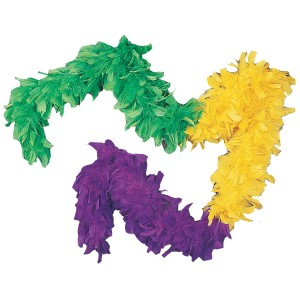Mardi Gras Boa - Green / One Size