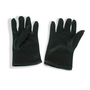 Theatrical Child Black Gloves - Black / One Size