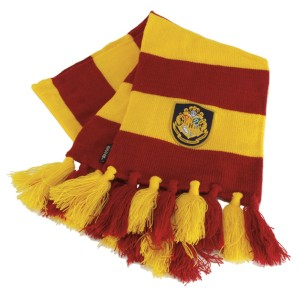 Harry Potter Hogwarts Scarf - Yellow / One Size