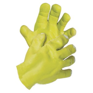 Shrek Hands Adult - Green / One Size