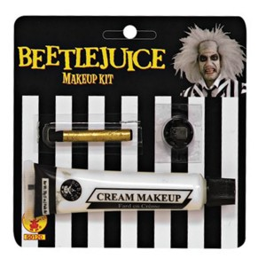 Beetlejuice Makeup Kit - White / One Size