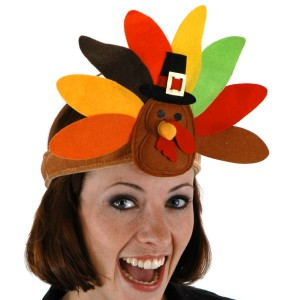 Turkey Headband - Brown / One-Size