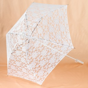 Lace Parasol - White / One-Size
