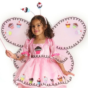 Cupcake Fairy Child Wings - Pink / One Size