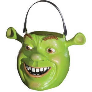 Shrek Forever After Trick or Treat Pail - Green / One-Size