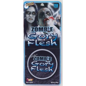 Zombie Gory Flesh Makeup - Gray / .25 oz.