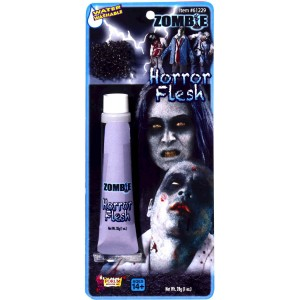 Zombie Horror Flesh Makeup - White / 1 oz.