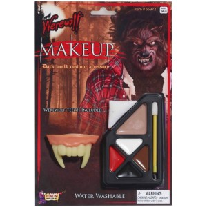 Werewolf Makeup Kit - Brown / One-Size