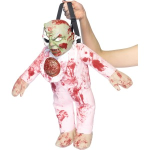Zombie Baby Backpack - Red / One-Size
