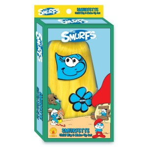 The Smurfs Smurfette Wig and Makeup Set Child - Blue/Yellow / One-Size