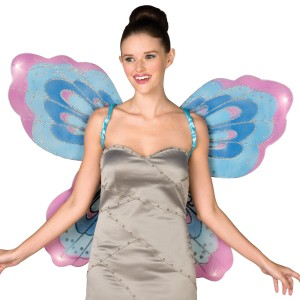 Fairy Wings Adult - Blue / One-Size