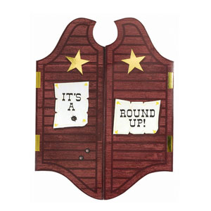 Round Up Jumbo Invitations - 8ct