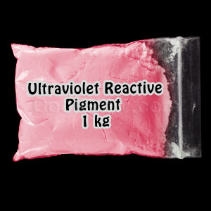 Glominex Ultraviolet Reactive Pigment 1 kg - Red