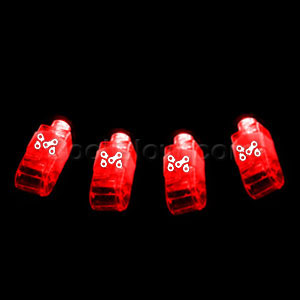 LED Finger Lights - Red 36ct