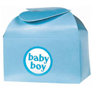 Baby Shower Favor Box Kit - Blue