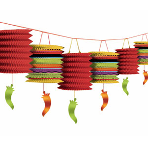 Fiesta Lantern Garland- 12ft