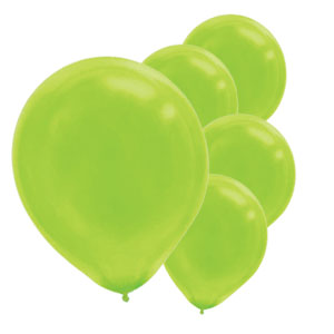 Kiwi Latex Balloons- 15ct