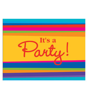 It's a Party Invitations- 8ct