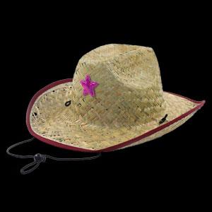 Cowboy Star Hat - Pink