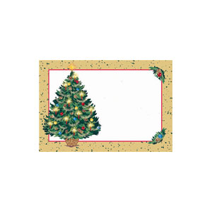 Warmth of Christmas Name Tags- 50ct