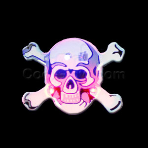 Flashing Skull and Crossbones Blinky