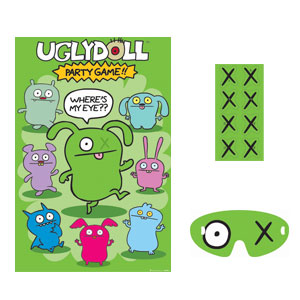 Ugly Doll Party Game- 4pc