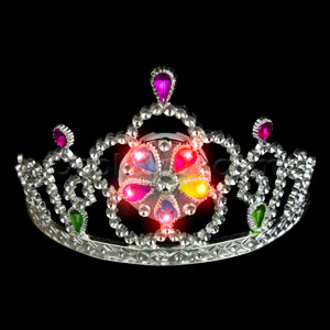LED Light Up Tiara - Red