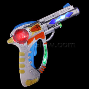 Flashing LED Gun