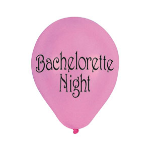 Bachelorette Night Balloon