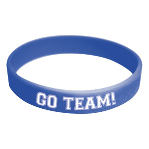 Go Team Wristband - Blue
