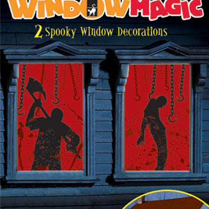 Glow Bloody Window Magic Decoration- 2ct