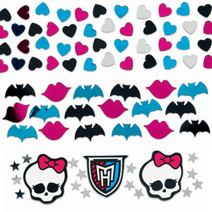 Monster High Confetti- Assorted