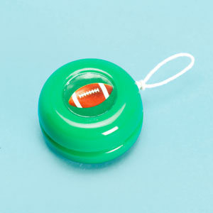 Football Yo-Yo- 12ct