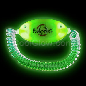 LED Stretchy Bracelet - Green
