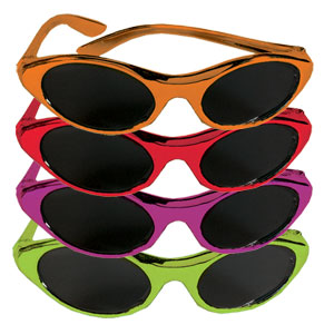 Fiesta Color Glasses- 12ct