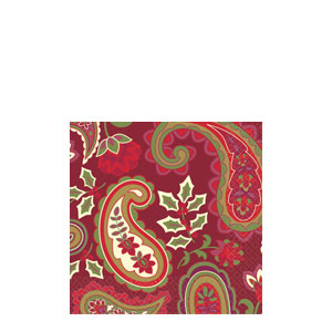 Holiday Spirits Cocktail Napkins- 16ct