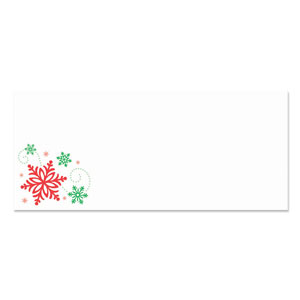Holiday Snowflake Envelopes- 25ct