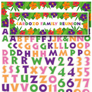 Giant Summer Personalized Banner- 65in