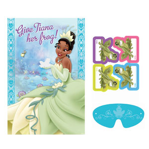 Disney Princess and The Frog Party Game- 4pc
