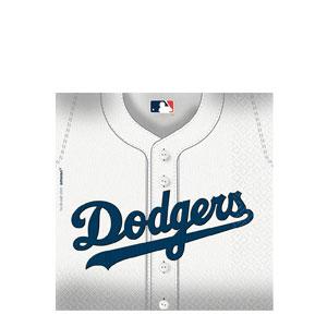 Los Angeles Dodgers Luncheon Napkins- 36ct