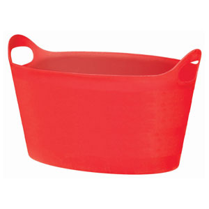 Red Oval Party Tub