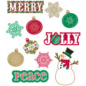 Holiday Icon Cutouts- 30ct